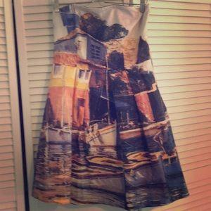 Eva Franco Venice Canal dress, size 12